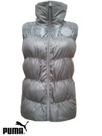Women's Puma Grey Gilet (562189) x6 (Option 1): £14.95